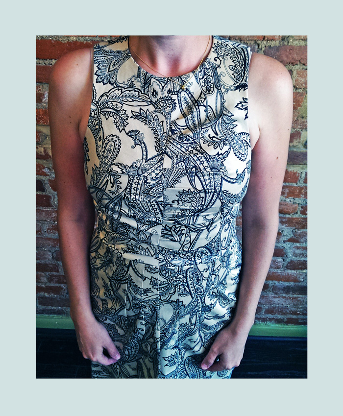 When that dress from Etsy has a special surprise/flaw, bring it to someone who is a design AND a tailor.