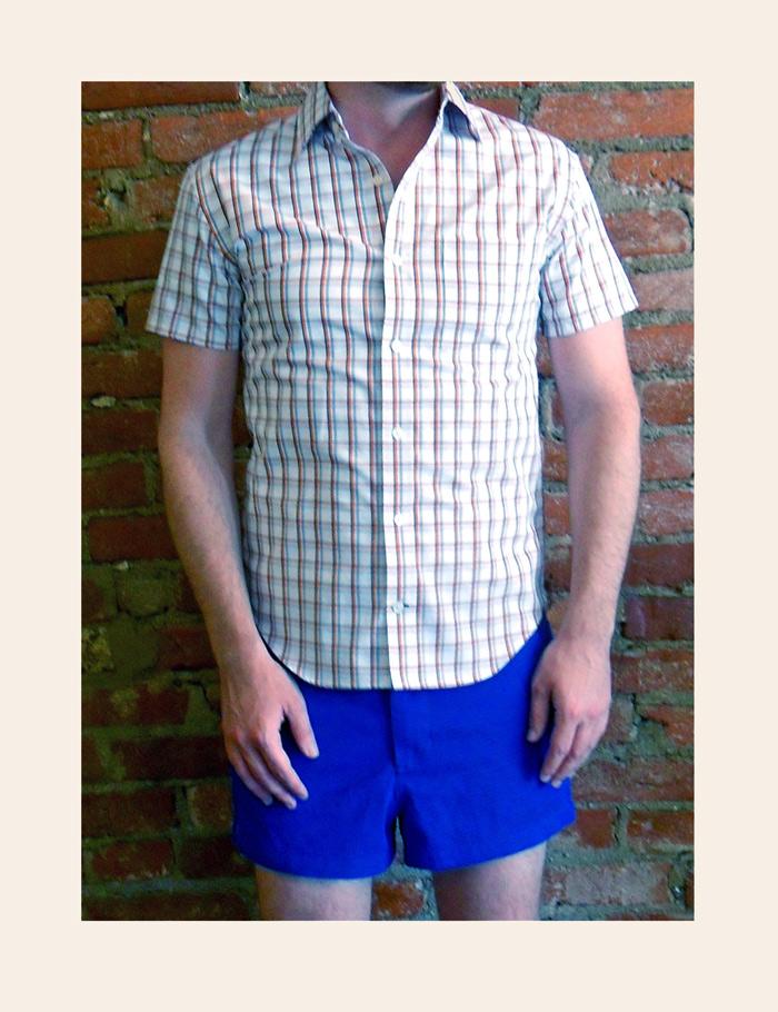 Shop your closet–Shorts and shirt revamp
