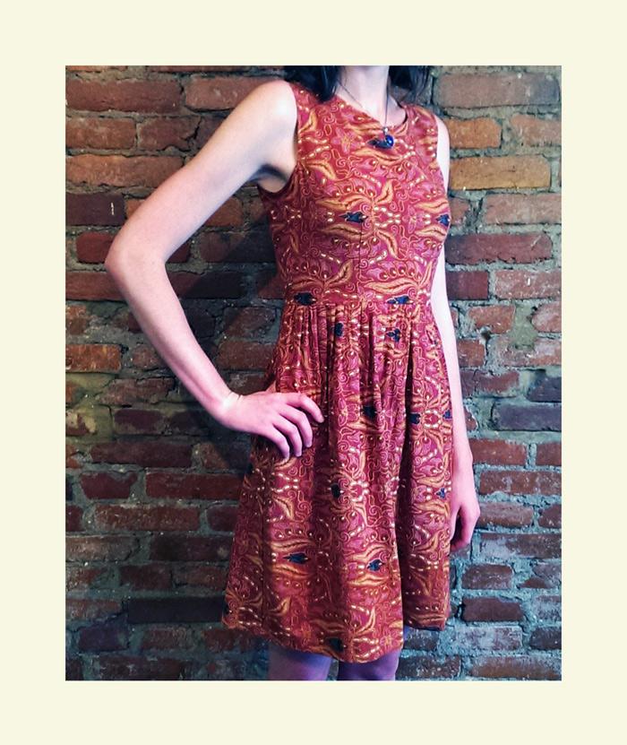 Buffalo Exchange dress: Muu Muu to tailored sundress