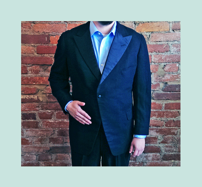 Vintage Suit Coat from the 20's loses 8 inches