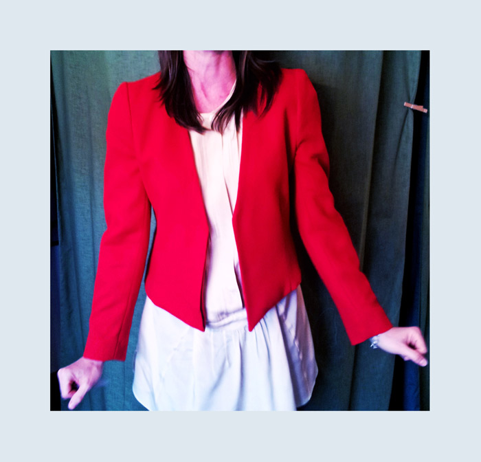 Mother's oversized blazer gets chopped up into a modern staple