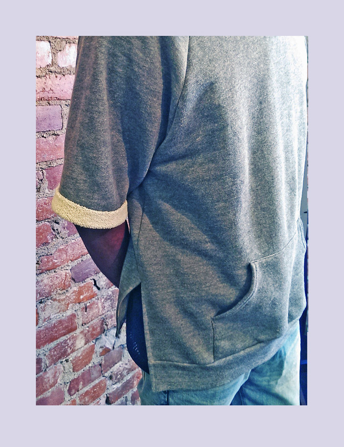 Old beloved hoodie gets a facelift